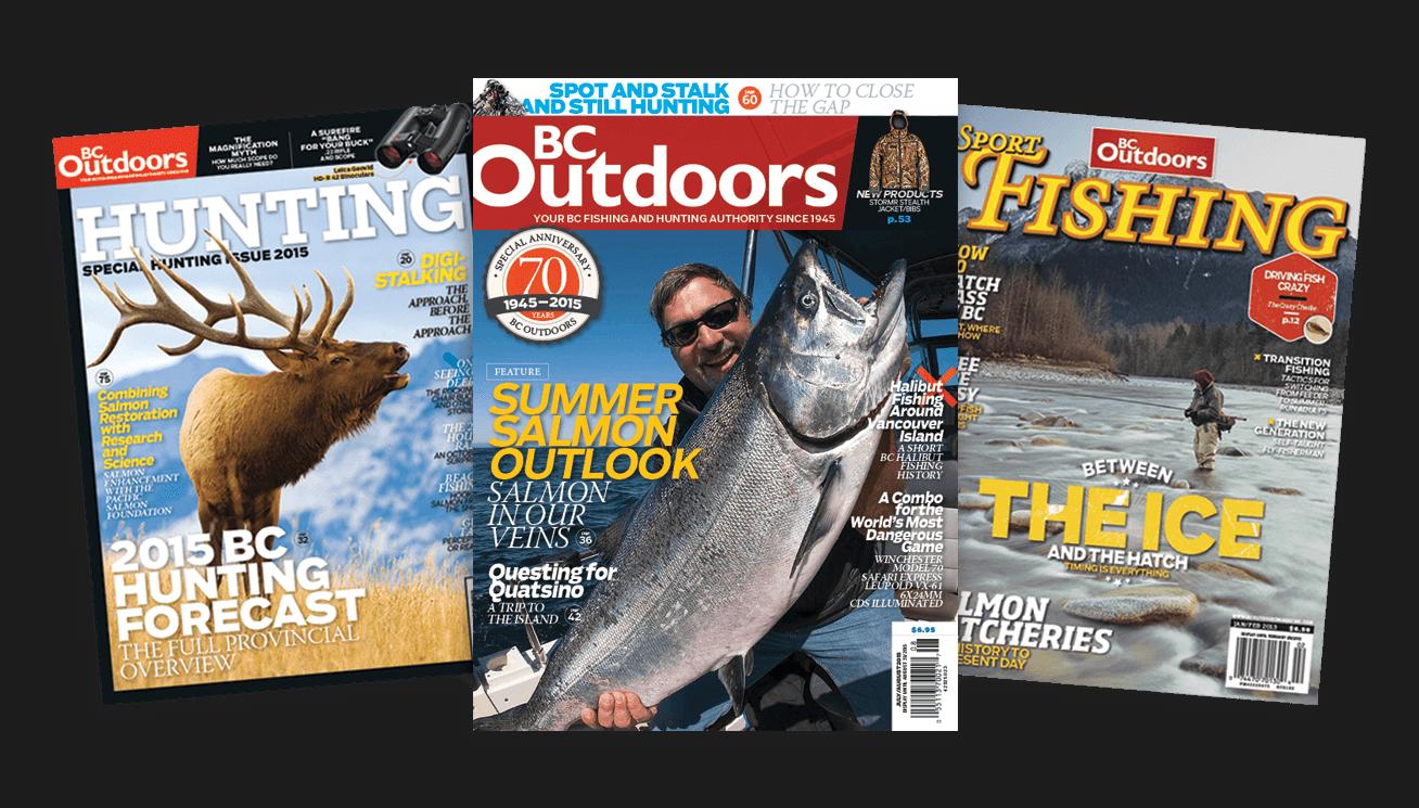 BC Outdoors magazine